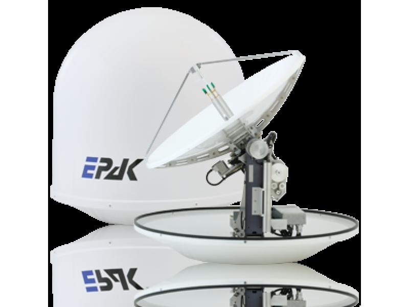 Satellite Internet at sea